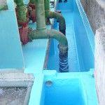 Impermeabilização de torre de resfriamento