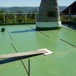 Impermeabilização de piscina e terraço para colocação de jardim