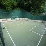 Impermeabilização de quadra de esportes