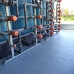 Impermeabilização de piso metalúrgica