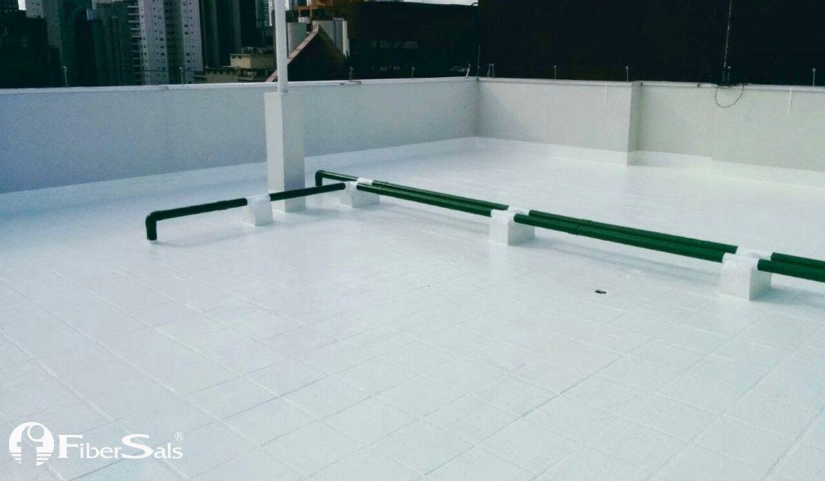 impermeabilizar a laje com solução 100% silicone