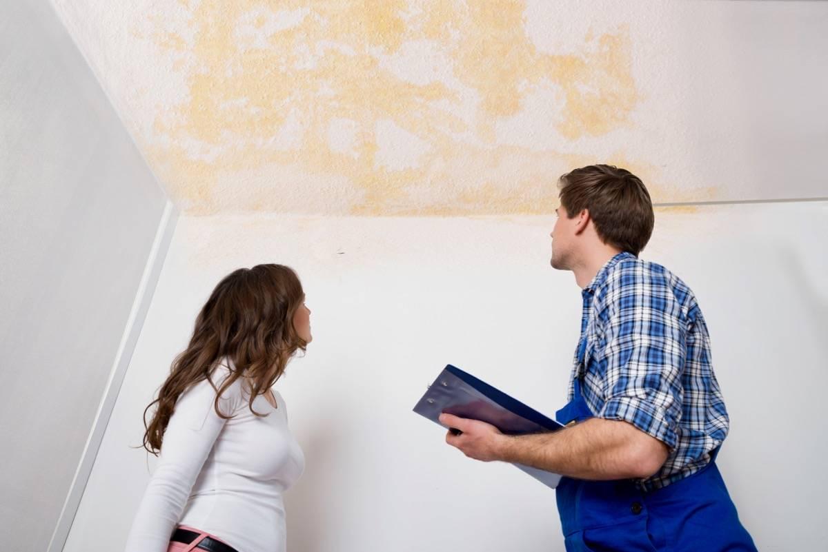 infiltração em apartamento alugado quem paga morador ou proprietário