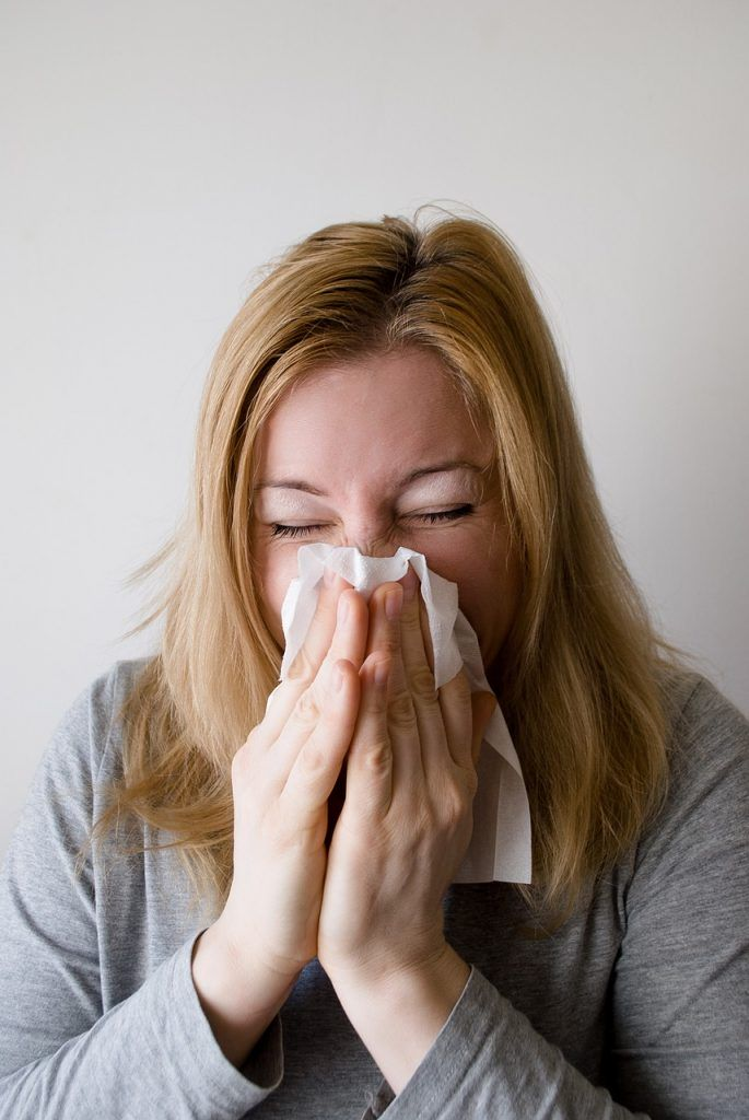 danos causados pela umidade alergia