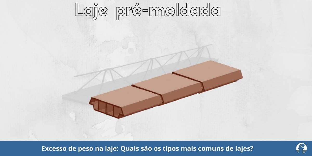 excesso de peso na laje concreto armado laje maciça e pré moldada treliçada