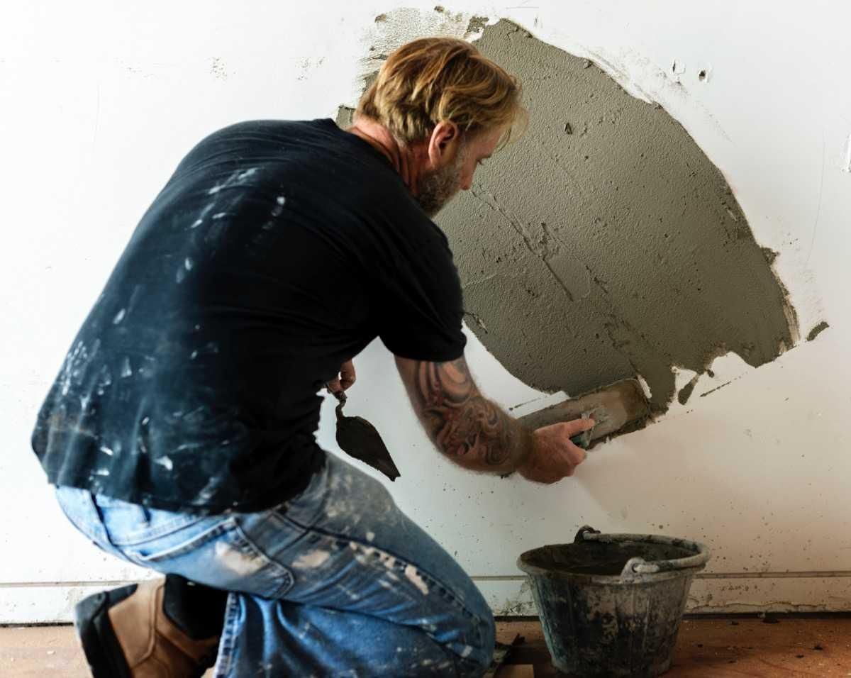 impermeabilização de paredes reboco