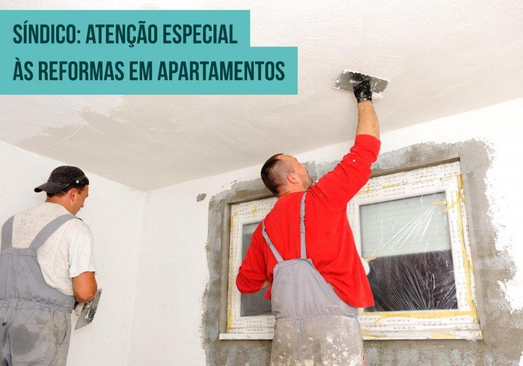 reforma de apartamento síndico norma abnt
