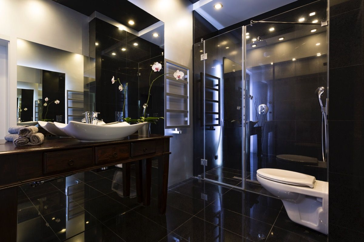Qual e como escolher o melhor piso para banheiro for Banos modernos para apartamentos