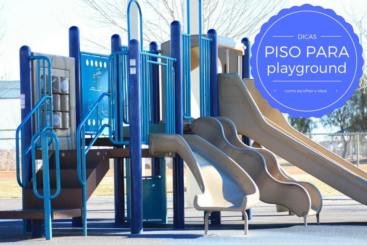 piso para playground com infiltração condomínio