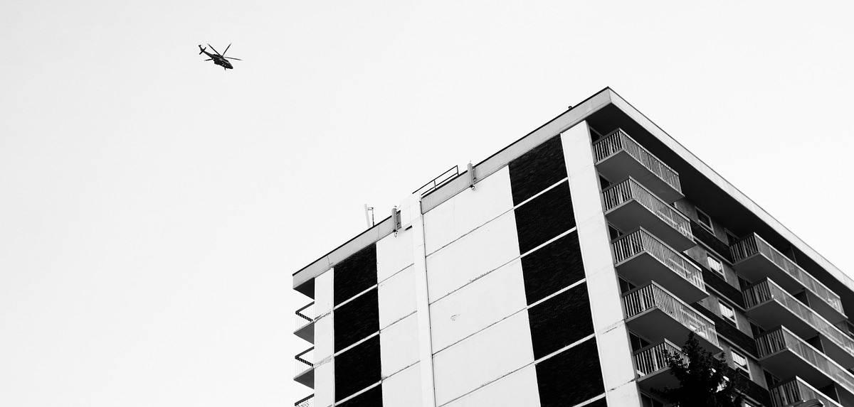 implantação de heliponto helicóptero em condomínio