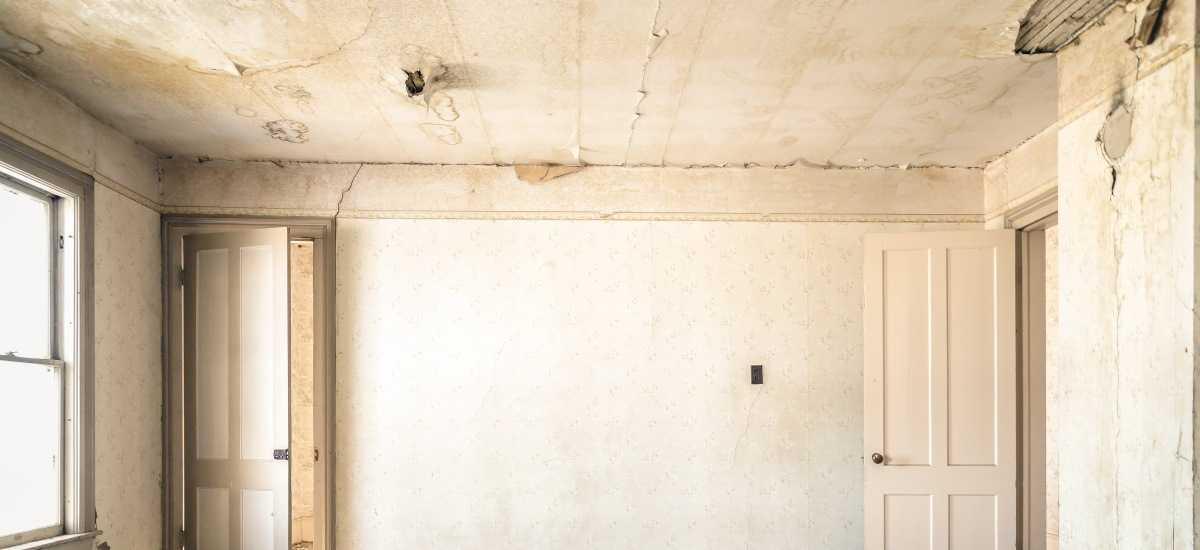 infiltração no teto laje e forro como resolver