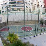 Impermeabilização de laje com quadra poliesportiva no Rio de Janeiro RJ