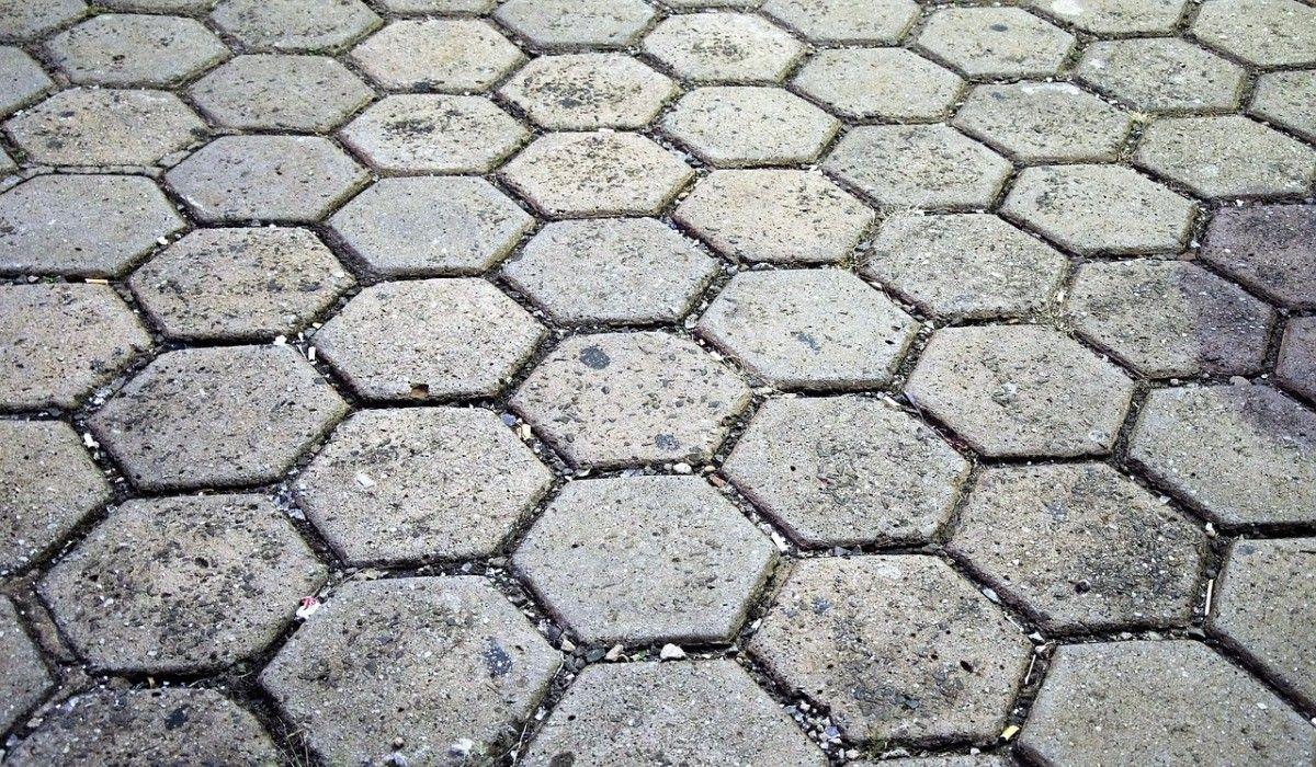 áreas externas melhor piso para calçada