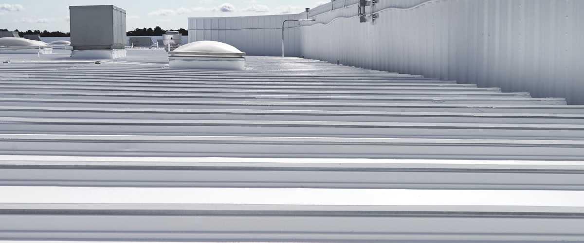 impermeabilização de telhado solução 100% silicone Fibersals