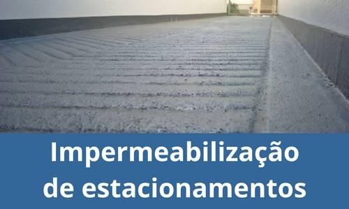 Impermeabilização de estacionamentos