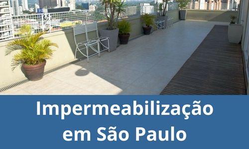 Impermeabilização em São Paulo