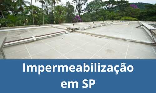Impermeabilização em SP
