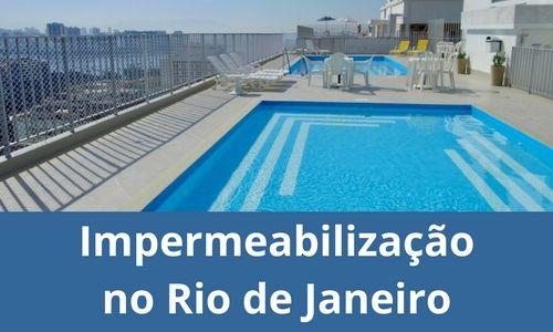 Impermeabilização no Rio de Janeiro