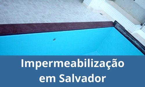 Impermeabilização em Salvador