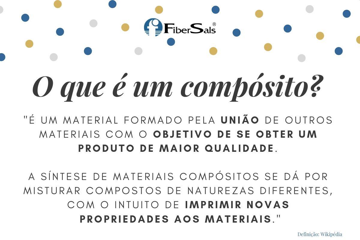 sistema fibersals funciona o que é um compósito de poliéster flexível