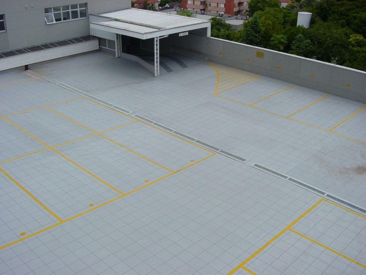 piso para estacionamento impermeabilização fibersals