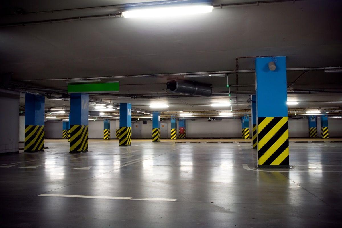 piso para estacionamento acabamento