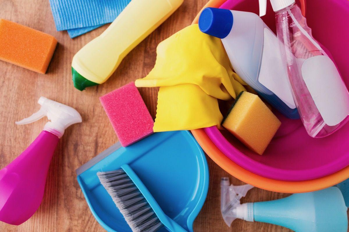 piso encardido granilite poroso limpeza receita caseira