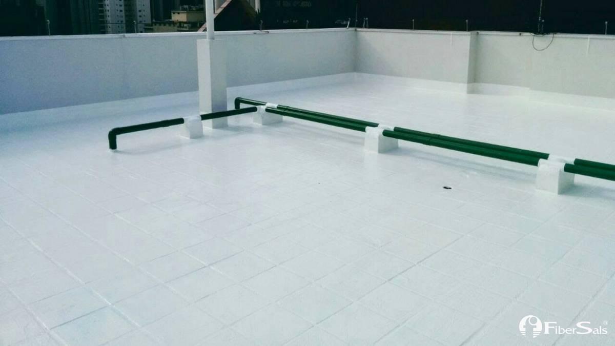 impermeabilização solução 100% silicone fibersals
