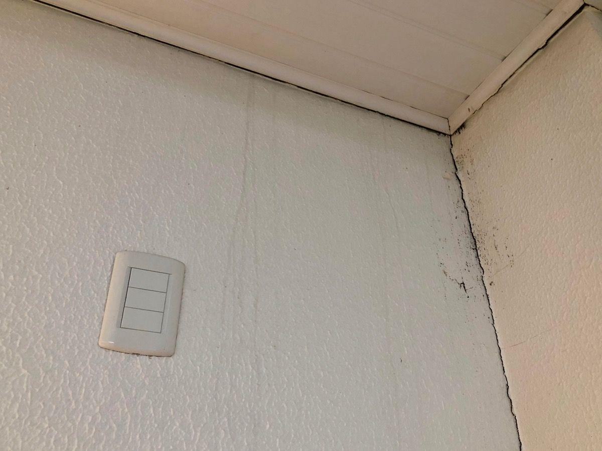 sinais de infiltração em apartamento