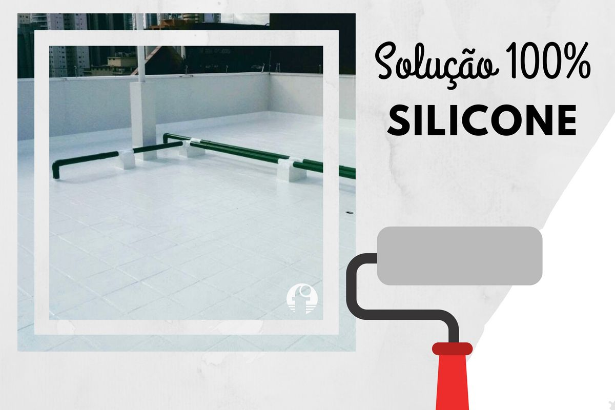 emulsão acrílica x solução 100% silicone Fibersals