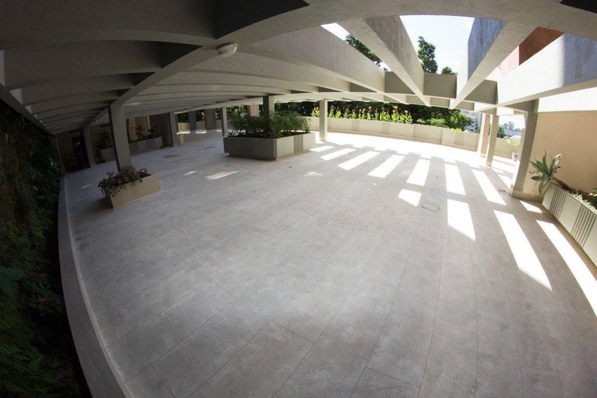Impermeabilização de piso com o Sistema Fibersals