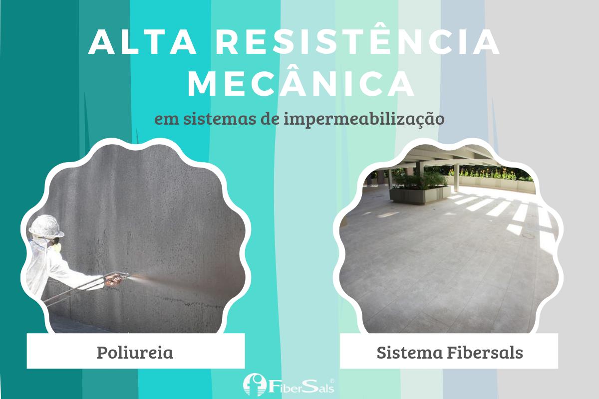 impermeabilização e alta resistência mecânica