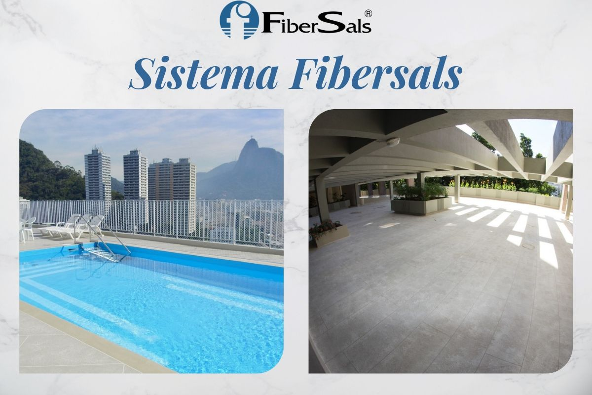 sistema fibersals solução 100% silicone fibersals impermeabilização