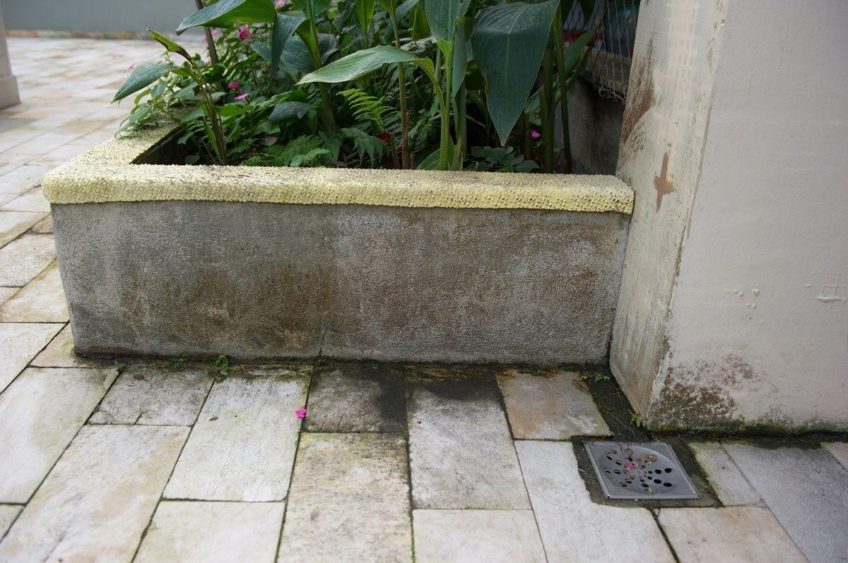impermeabilização de floreira jardineira