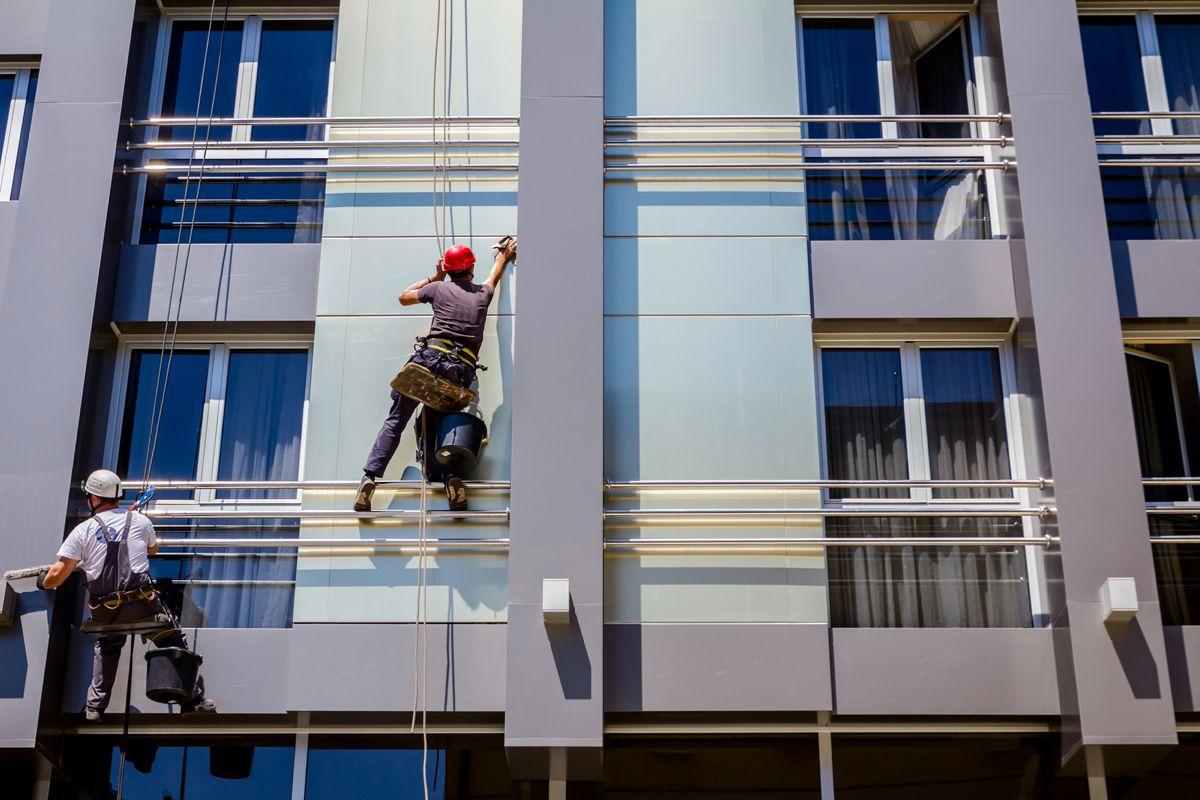 limpeza de fachada em condomínios
