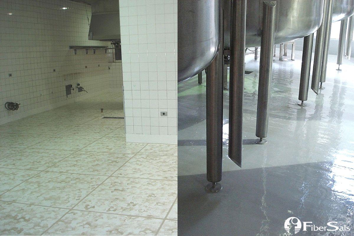 piso monolítico impermeabilizante fibersals