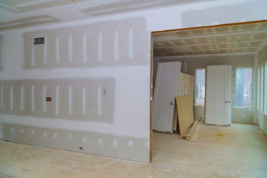 construção a seco drywall steel frame wood frame