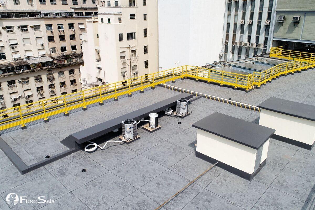 impermeabilização a quente sistema fibersals melhor alternativa