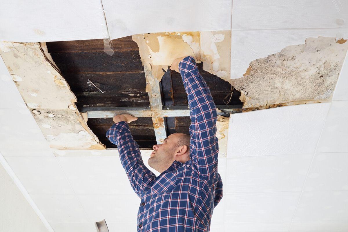 como impermeabilizar teto goteira