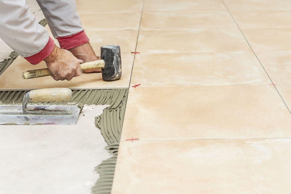 impermeabilização de laje com piso