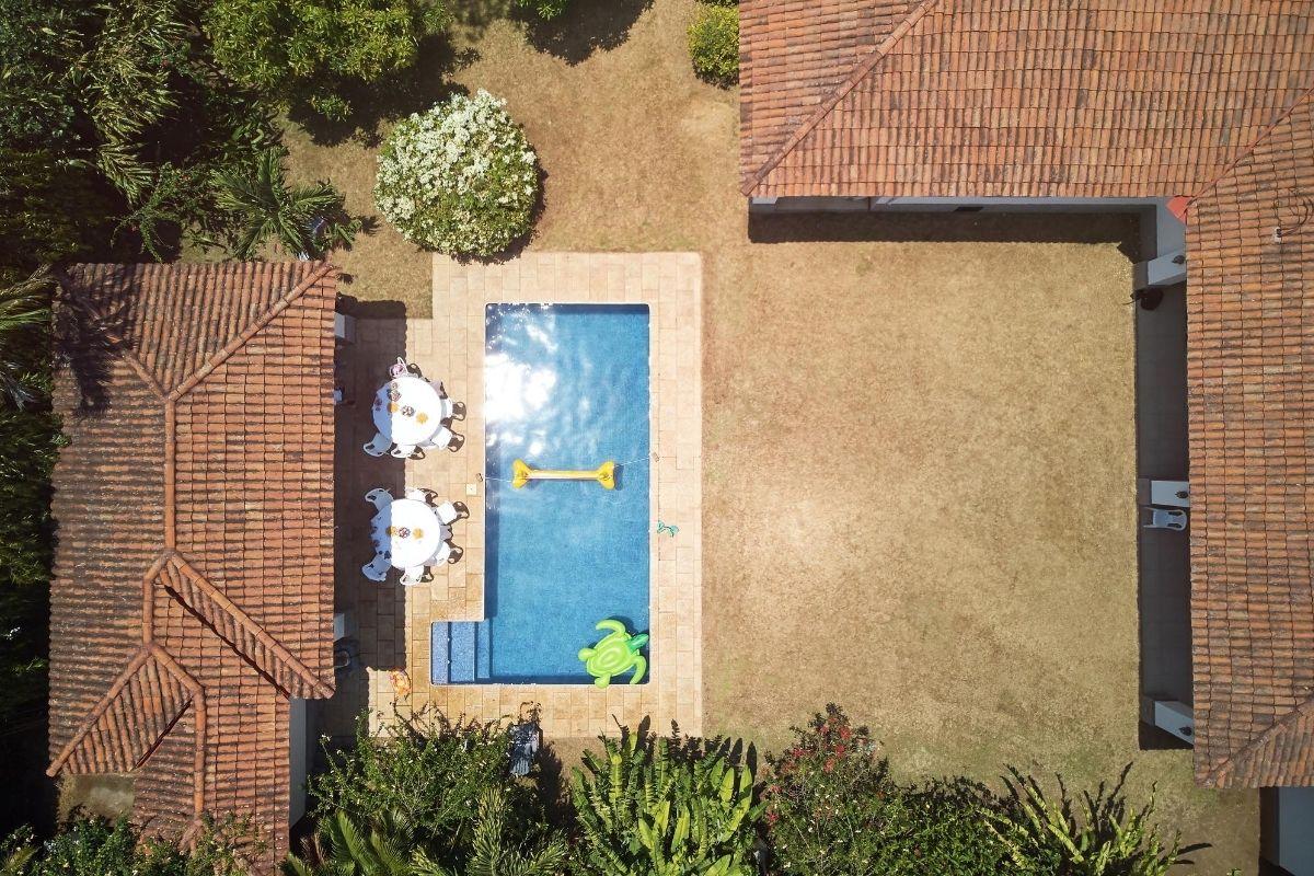 edícula e piscina impermeabilização