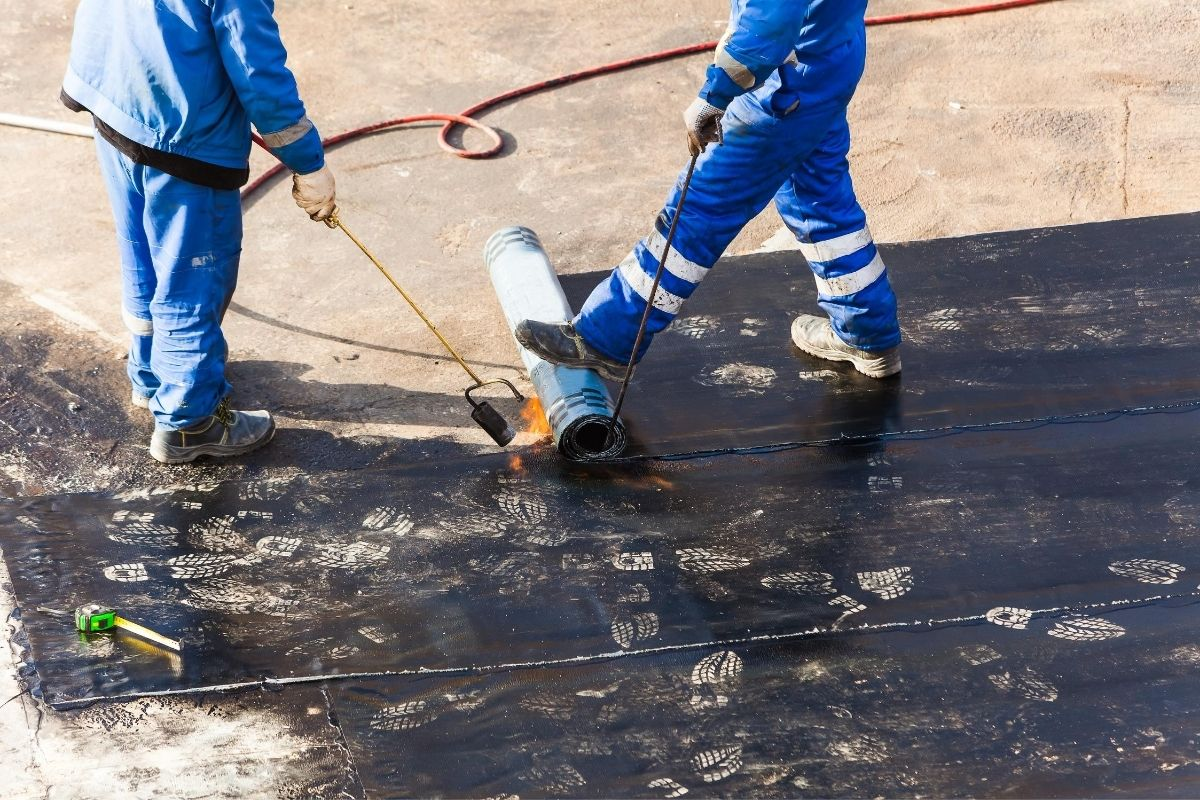 impermeabilização mão de obra de aplicação e produto
