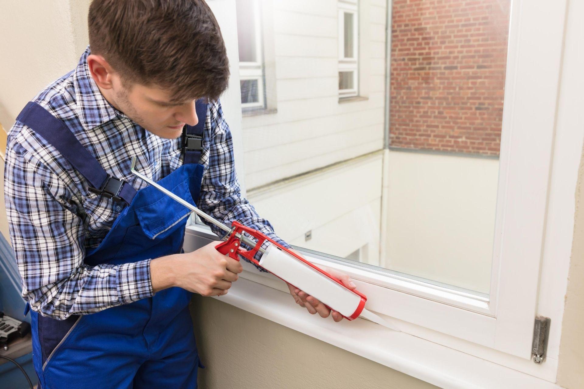 manutenção de sacadas e janelas