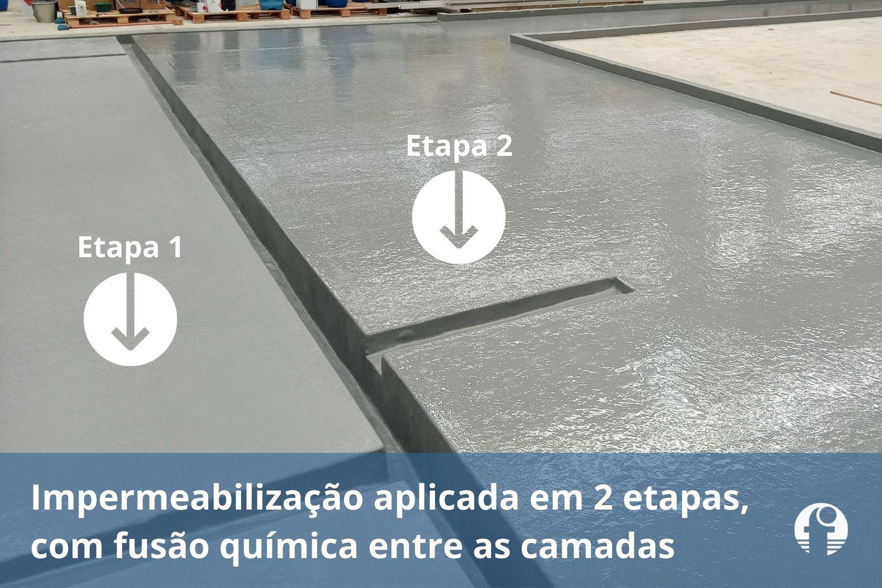impermeabilização de bacia de contenção química tanque