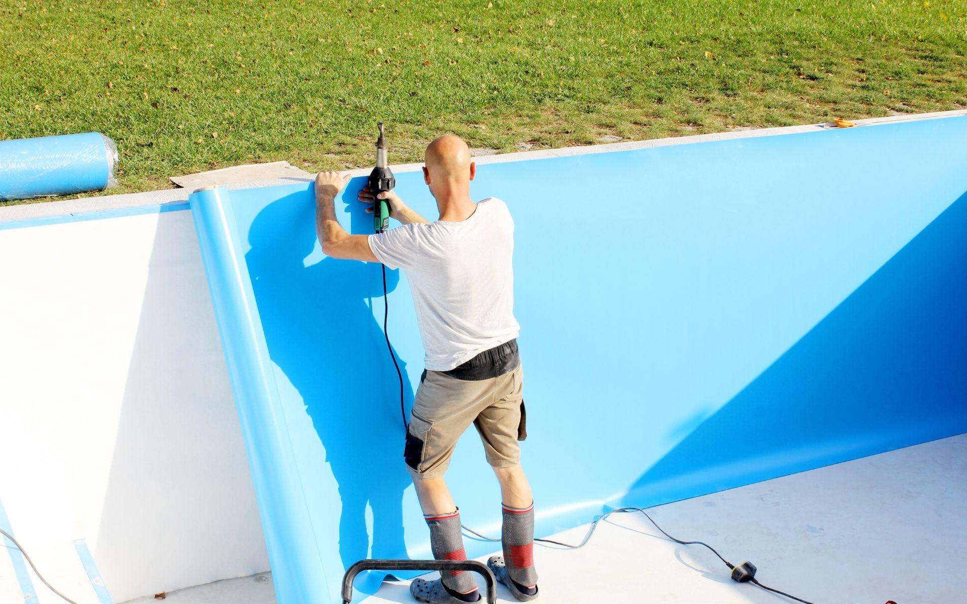 impermeabilização com vinil piscinas reservatórios