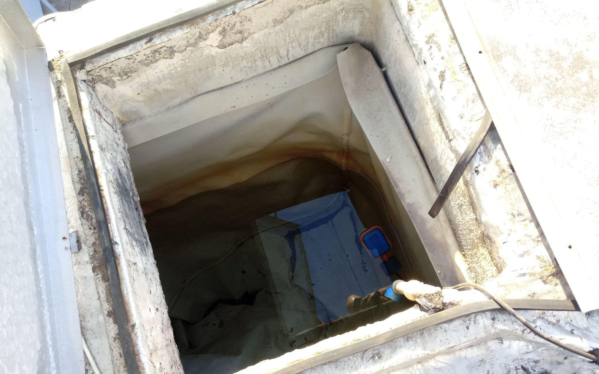 impermeabilização com vinil em reservatório caixa d'água