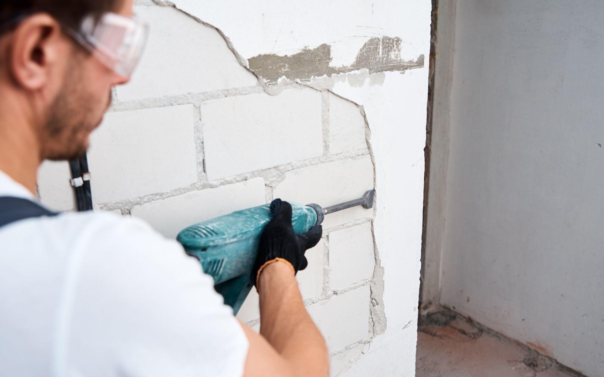 uso de martelete em apartamentos martelete rompedor