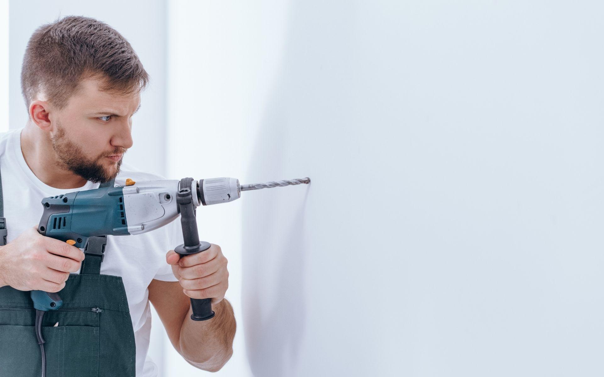 uso de martelete em apartamentos martelete perfurador