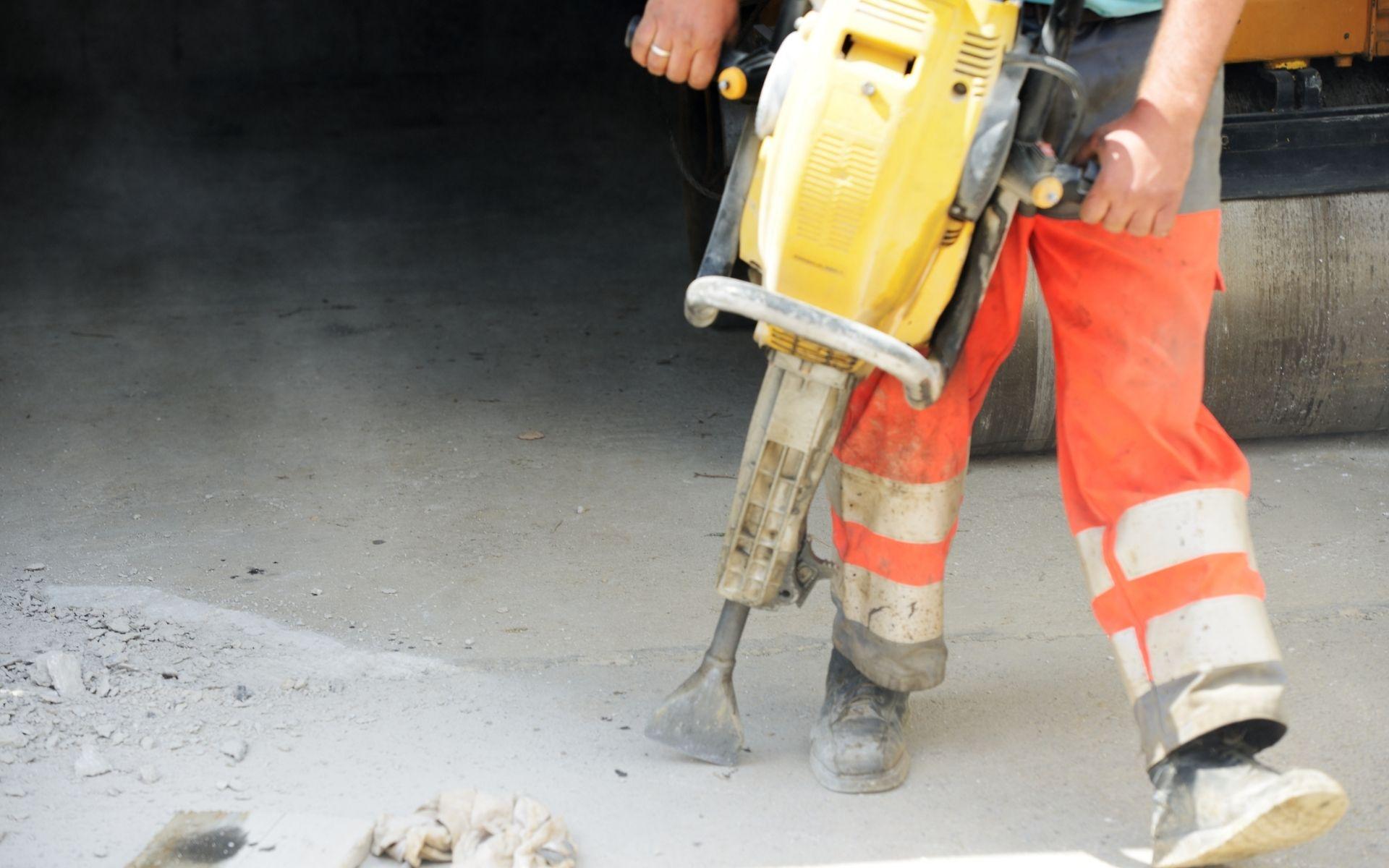 uso de martelete em apartamentos martelete demolidor