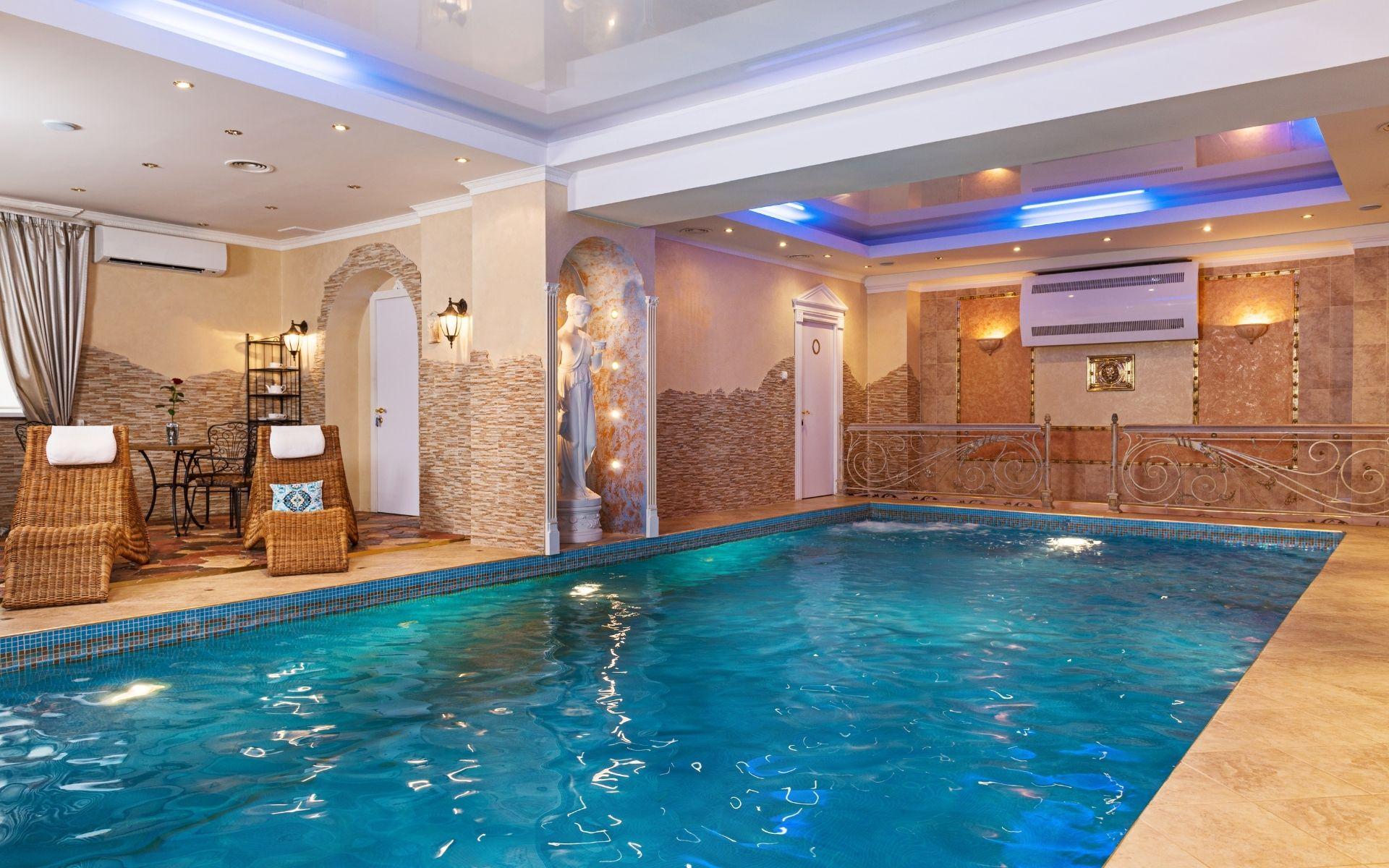 aquecimento de piscinas em condomínios